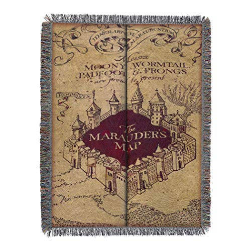 The Northwest Company Maruader's Woven Tapestry Throw Blanket