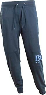 Hugo Boss Tracksuit Pants with Textured Logo 50414654 403 Navy