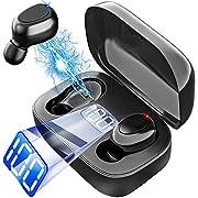 #LightningDeal TWS 5.0 Bluetooth Headphone Wireless Fone de ouvido in-Ear for Mobile Headset Phone Waterproof Sport Smart Touch denoise XT7
