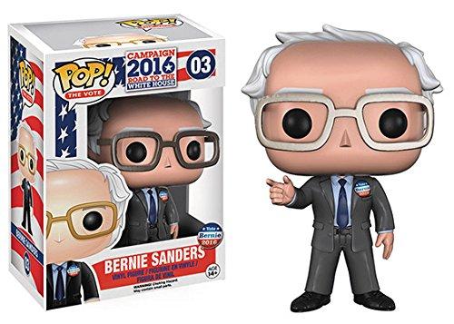 FunKo - Figurine USA Campaign 2016 - Bernie Sanders Pop 10cm - 0849803105341