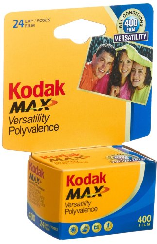 Kodak Kodacolor Gold 400 GC Color Negative Film ISO 400, 35mm Size, 24 Exposure by Kodak