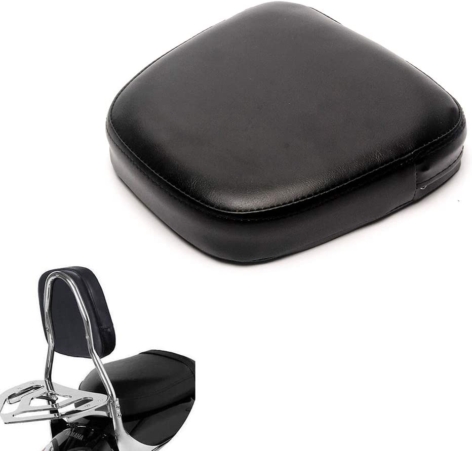 Triclicks PU Motorcycle Sissy Industry No. 1 Bar Backrest low-pricing Pad Back Seat Cushion