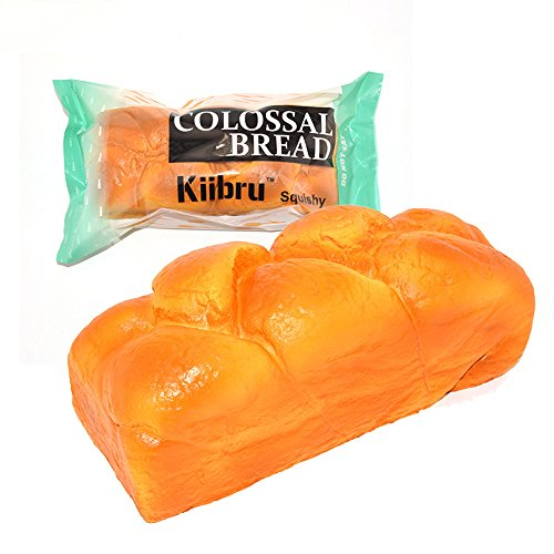 Kiibru Squishy English Bread 7.9' Colossal Slow Rising Squishies Scented Toy