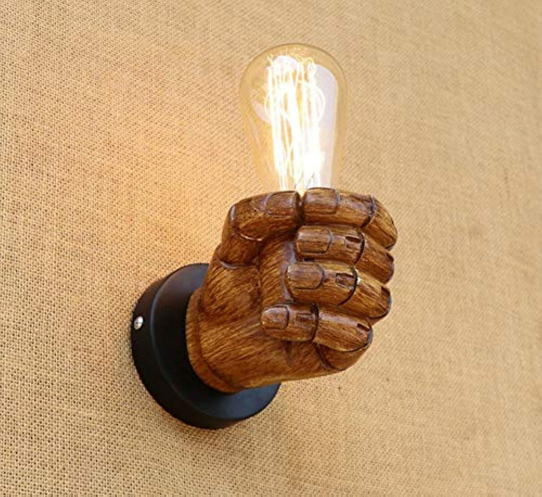LED Retro Wandleuchte Schlafzimmer Treppenhaus Retro Lampe Wandleuchte Wandlampe, B