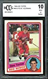 1984-85 Topps #49 Steve Yzerman Rookie Card BGS BCCG 10 Mint+ - Hockey Slabbed Rookie Cards. rookie card picture