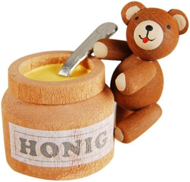 GUNTER REICHEL - Good Luck orso with honey pot
