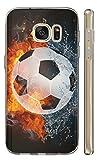 Kuna-Mobile Hülle für WIKO U Feel Lite Hülle aus Silikon Motiv 1152 Fussball Handyhülle Backcover Fußball Schutzhülle Soft Cover TPU Handy Case Hülle für WIKO U Feel Lite