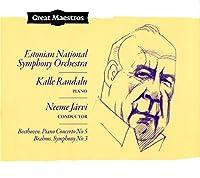 Beethoven, Piano Concerto No. 5 / Brahms, Symphony No. 3