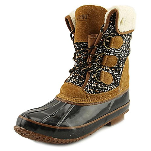 Khombu Womens Rose Closed Toe Mid-Calf Cold Weather Boots