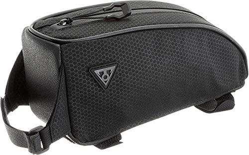 TOPEAK Unisex– Erwachsene TopLoader Black Satteltasche, schwarz, 23,5cm