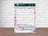 Photocall Feliz Cumpleaños Whatsapp 100 x80 cm | Regalos para Cumpleaños | Photocall Económico y Original | Ideas para Regalos | Regalos Personalizados de Cumpleaños