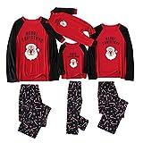 Fossen MuRope Pijamas Navideños Familiars a Juego de Santa, Pijama Mujer Invierno Hombre Entero Niña Niño Bebe - Pijama Navidad Familia Baratos Reno