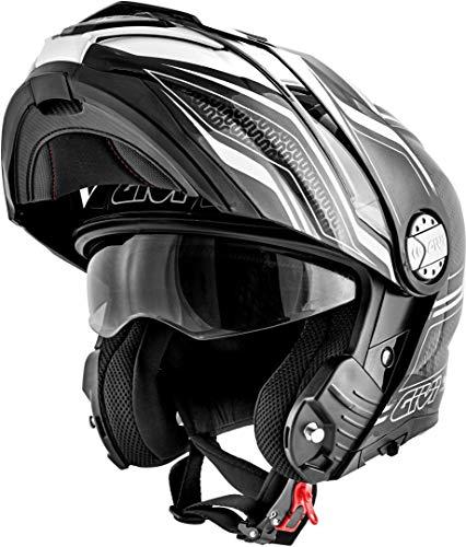 GIVI X.33 Canyon Layers Helmet Casco Nero/Bianco