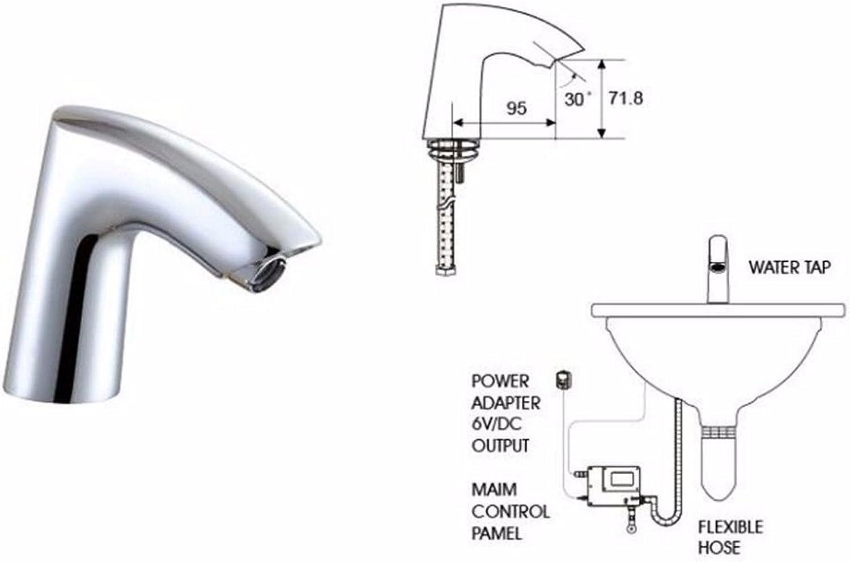 ETERNAL QUALITY Bathroom Sink Basin Tap Brass Mixer Tap Washroom Mixer Faucet The Antique brass faucet cold water faucet gold 3-hole basin faucet Bath Faucet A Kitchen Si