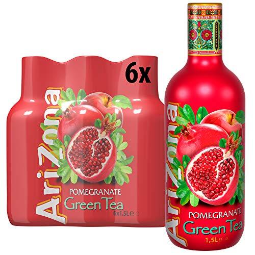 AriZona Green Tea Pomegranate PET, (6x1.5l), 9 l