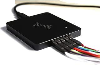 Logic Analyzer, KKmoon Powerful Portable Metal DSLogic Logic Analyzer 16 Channels 400M Sampling USB-based Debugging Logic Analyzer Basic version
