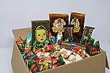 Russian-Box- Die russische Schokolade und Karamell Variation Mix - über 1 Kg zum Naschen (ohne russische Geschenkbox)