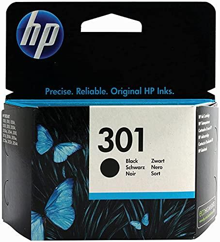 HP –Cartouche d'encre d'origine 301 Noir pour HP Deskjet 1000101010501050A 1050se 151015121514-sans emballage extérieur