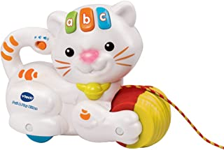 VTech Baby Pull and Play Kitten, 158203 Multicoloured