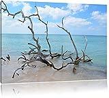 Spiaggia del mare L'Avana Cuba USA su tela 100x70cm, Immagini XXL completamente incorniciati con telai di grandi dimensioni cuneo. Stampa artistica su quadro a parete con cornice. Più economico di pittura o di un dipinto a olio, non un man
