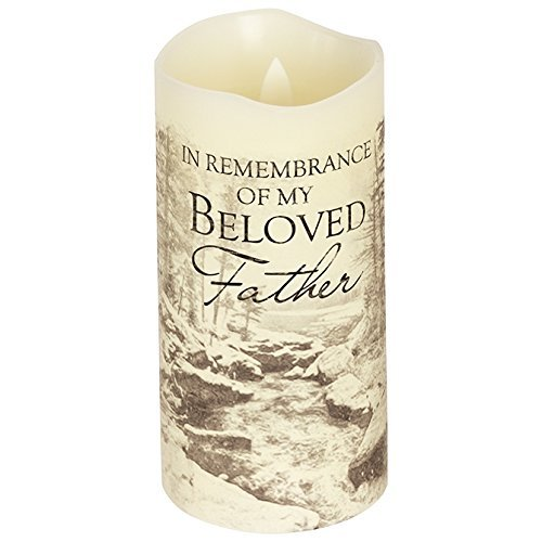 Carson, Everlasting Glow with Premier Flicker Father Candle