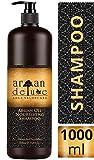 Argan Deluxe Shampoo in Friseur-Qualität 1000 ml - stark pflegend mit Arganöl für Geschmeidigkeit & Glanz - für Damen und Herren