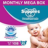 Best Always Adult Diapers - Supples Baby Diaper Pants, Monthly Mega-Box, X-Large, 108 Review