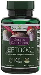 Each Natures Aid Organic Beetroot capsule provides the equivalent to 4620 mg dried beetroot Beetroot has provoked a great deal of excitement and research in recent years, for its potential benefits Take 2 capsules per day with food; do not exceed the...