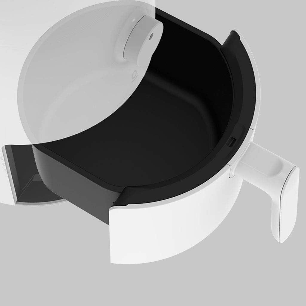 zyl Friteuse à air de Grande capacité Machine à Frites sans fumée Friteuse électrique multifonctionnelle Matériau antiadhésif Black