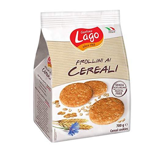 Gastone Lago Frollini Ai Cereali Senza Olio Di Palma 6 Pezzi Da 700 Grammi