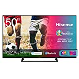 Hisense 50AE7210F, Smart TV LED Ultra HD 4K 50', Single Stand, HDR 10+, Dolby DTS, con Alexa integrata, Tuner DVB-T2/S2 HEVC Main10 [Esclusiva Amazon - 2020]