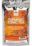 Shifa Golden Turmeric Tonic Tea: Anti-inflammatory and Therapeutic Tonic with Herbs, Phytonutrients and Antioxidants (1.5 oz.)