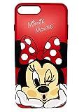 Générique New Disney Minnie Cartoons Transparent Coque Souple en TPU pour Apple iPhone 5/5s 6/6s iphone 7/8 (iphone 6/6s, Minnie 2)