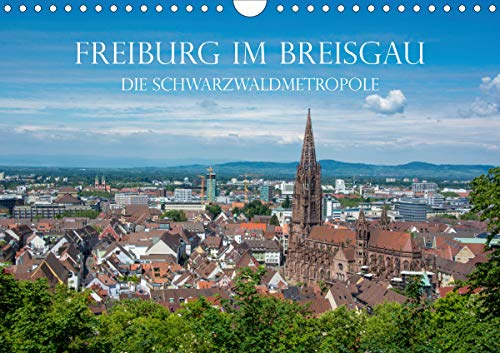 Freiburg im Breisgau - Die Schwarzwaldmetropole (Wandkalender 2021 DIN A4 quer)