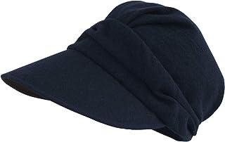 100%完全遮光 99%ではダメなんです! Rose Blanc(ロサブラン) 帽子 ビシュウウール キャスケット レディース 秋冬モデル