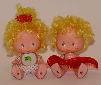 Strawberry Shortcake Lem and Ada Vintage Twin Dolls