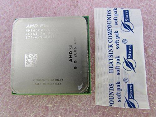 AMD Phenom X4 Quad-Core 9650 2.3GHz 2MB L3 - Procesador (AMD Phenom, 2,3 GHz, Socket AM3, 65 NM, 64 bits, 2 MB)