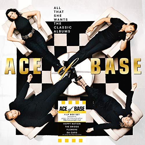 Ace Of Base - All That She Wants - heavyweight Colour Vinyl [VINYL]