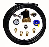 Viking Horns VIK-12 Train Air Horn Installation Kit for On-Board Air Systems with Heavy Duty 1/2' Inline Electric Air Valve and Air Hose