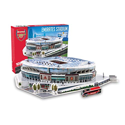 Estadio Emirates (Arsenal FC) - Nanostad - Puzzle 3D (