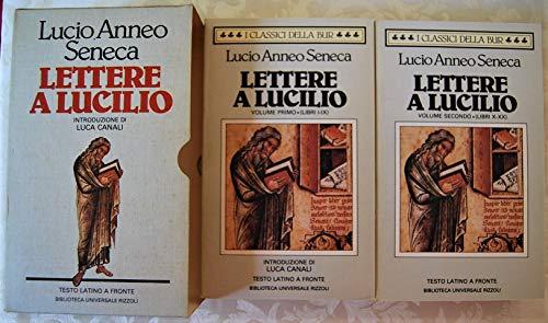 Lettere a Lucilio (vol. I- II)