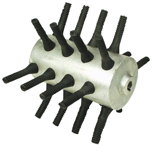 Kerbl 70503 Ersatzwalze mit 24 Fingern für Rupfmaschine 70502