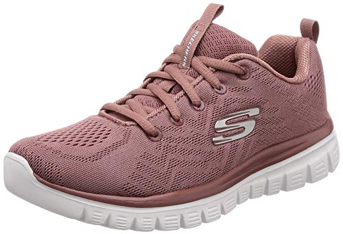 Skechers Graceful-Get Connected 12615/MVE Damen Schnürhalbschuh, Größe 41