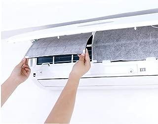 2 Pcs Aire Acondicionado Protección Del Viento Del Enchufe a Prueba De Polvo Cubierta De Auto-adherencia Del Papel De Filtro Purificador De Aire
