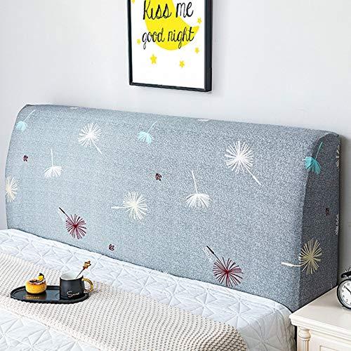 HKD Funda for Cabecero De Cama Lavable Elástica Prueba De Polvo Cover for Dormitorio Junto A La Cama Protectores (Color : O, Size : 1.8×0.7M)