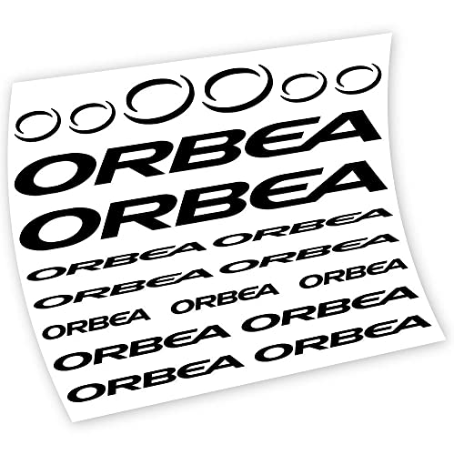 Orbea Pegatinas en Vinilo Adhesivo Cuadro (BK-Black)