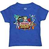 Transformers Little Boys' Toddler Rescue Bots Tee, Royal Heather (4T)