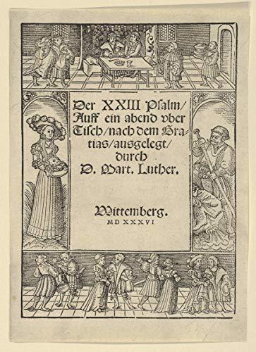 Lucas Cranach The Elder Giclée Leinwand Prints Gemälde Poster Wohnkultur Reproduktion(Zwei Drucke die Kreuzigung an und Christus, der das Kreuz auf Rückseite von der Leidenschaft trägt) #XFB