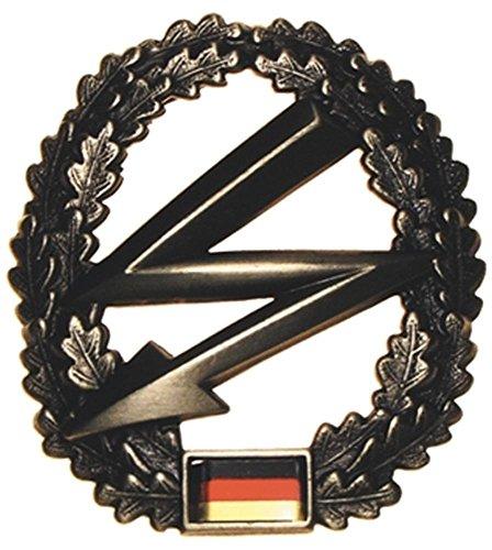 Bundeswehr Barretabzeichen, Télégraphiste, Métal