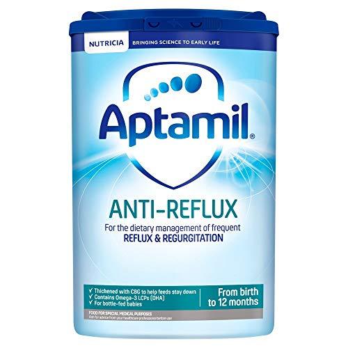 Aptamil Anti-Reflux Baby Milk Powder Formula, from Birth, 800 g